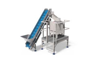 Sormac batch schilmachine MBS-60-optie-aanvoerband