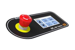 De Sormac MC-44 Vario groentecentrifuge touchscreen voor tijd en cycli