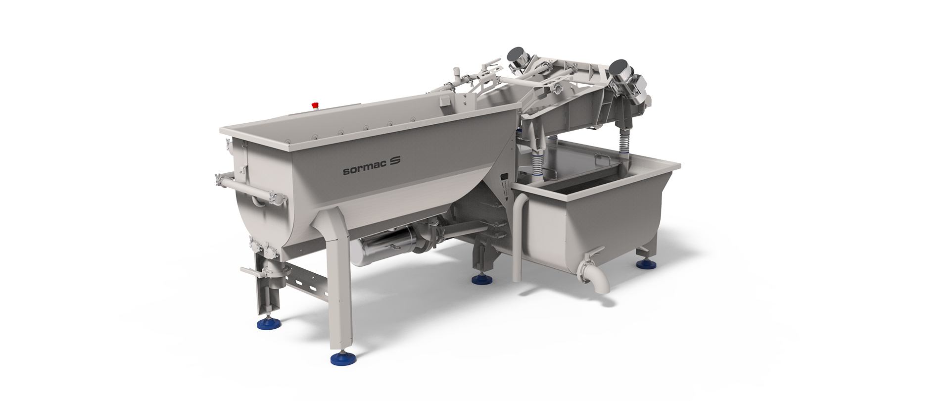 Spiral washer SW-50-250 - Sormac