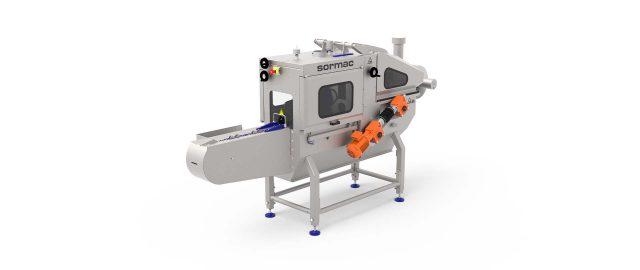 uienschiller, uienschilmachine, machine voor schillen van uien