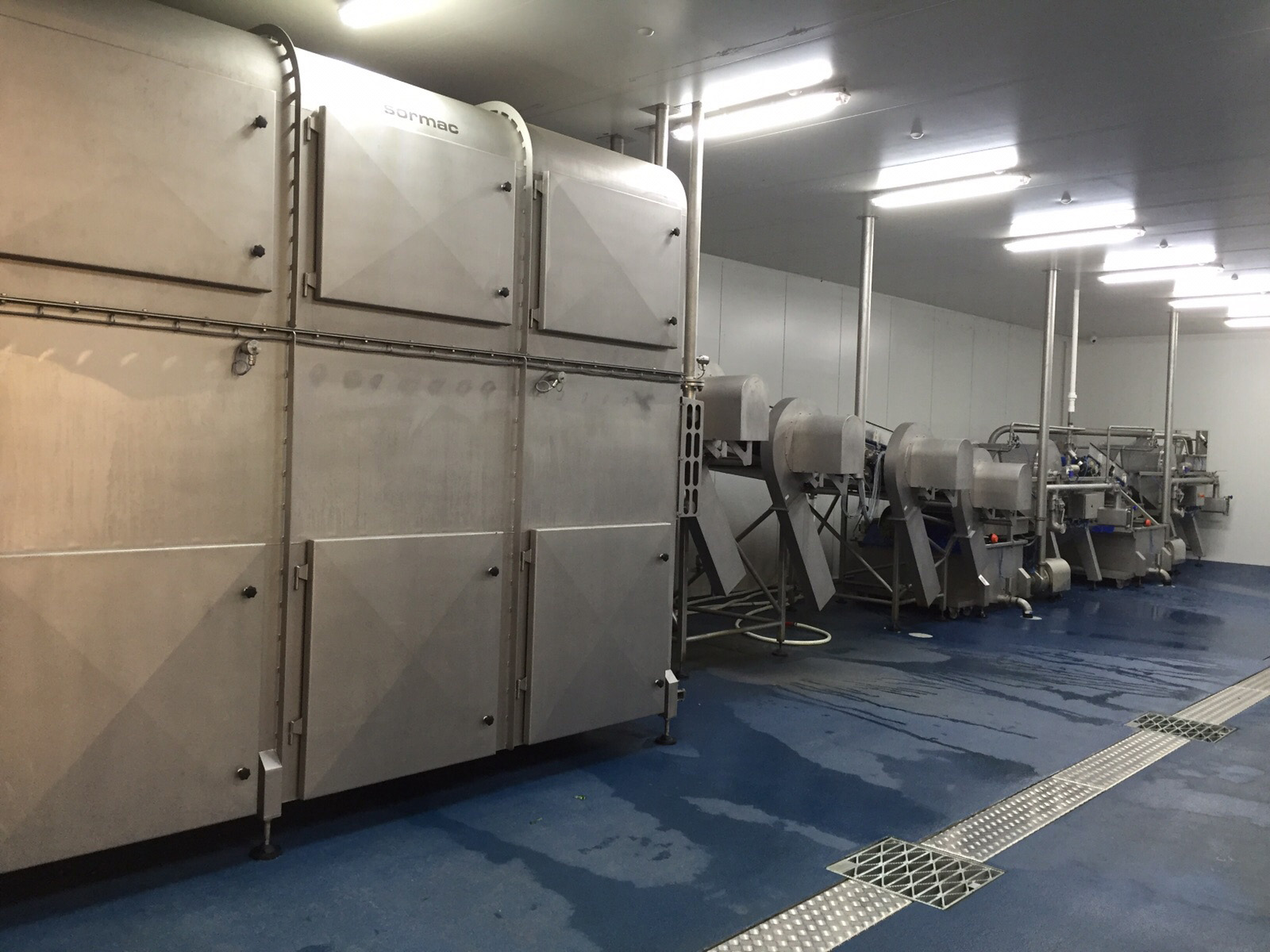 Bulmer Farms Australia - Sormac vegetable processing line