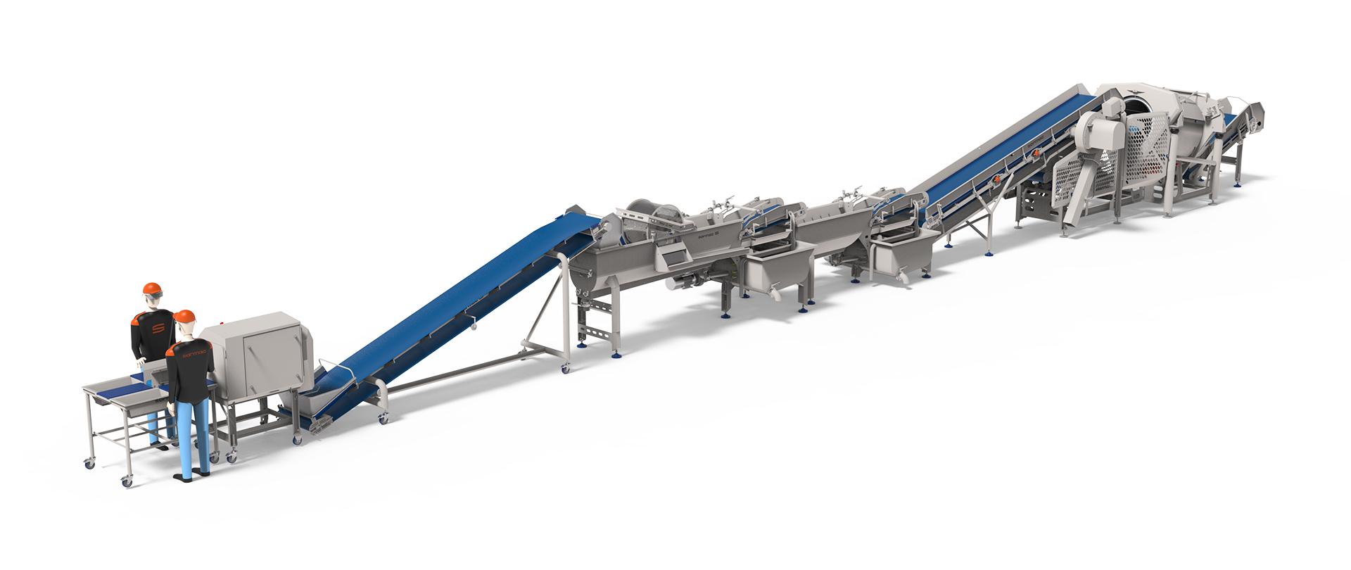 Sormac VeggieLine met SC-740 NextGen
